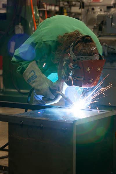 Welding is one of the many services offered by Cardinal Mfg.